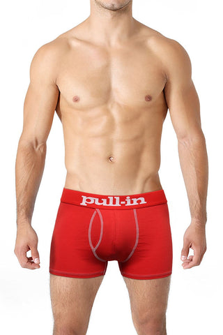 Pull-In Red Logo Shorty Trunk