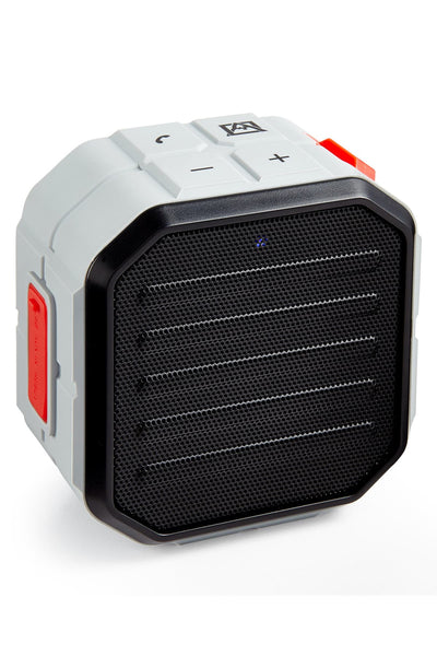 Avalanche Grey Cube Water-Resistant Bluetooth Speaker - CheapUndies.com