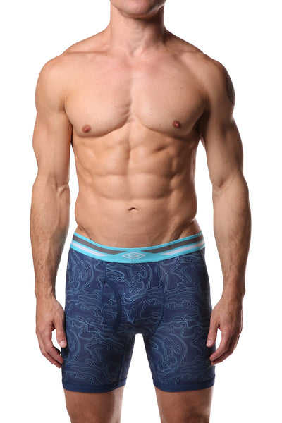 Umbro Blue Water Performance Boxer Brief - CheapUndies.com