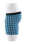 Unsimply Stitched Blue Houndstooth Boxer