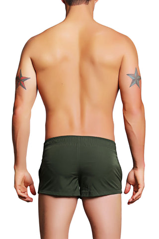 PoolBoy Green Shorty Short