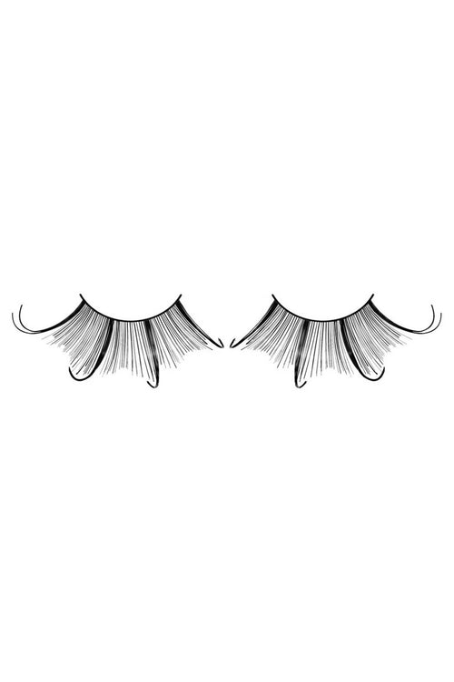 Baci Black Starlight Edition Feathered Eyelashes - CheapUndies.com