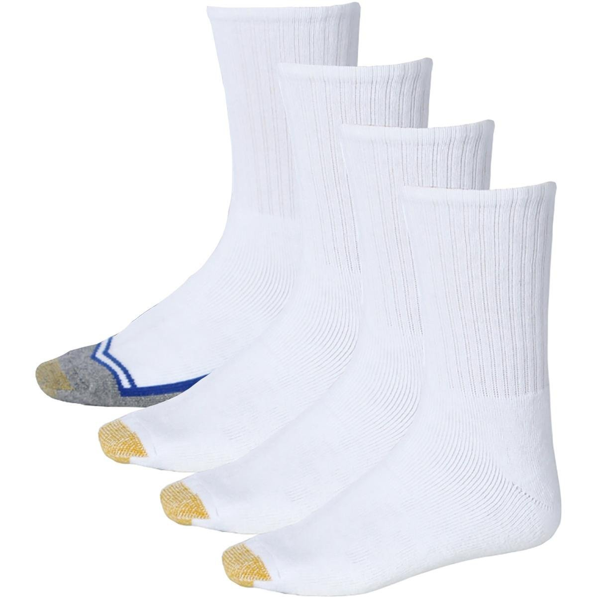 This Gold Toe Crew Socks 4 Pack