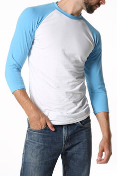CheapUndies Sky Blue Raglan Shirt