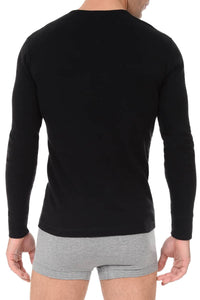 2(X)IST Black Tartan Long Sleeve Henley