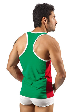 Clever Green Sporty Tank Top