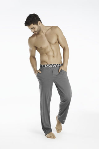 Hawai Grey Slim Fit Pajama Pants