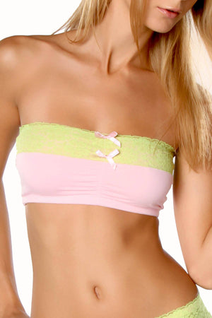 Spreegirl Be Natural Bandeau Bra Pink