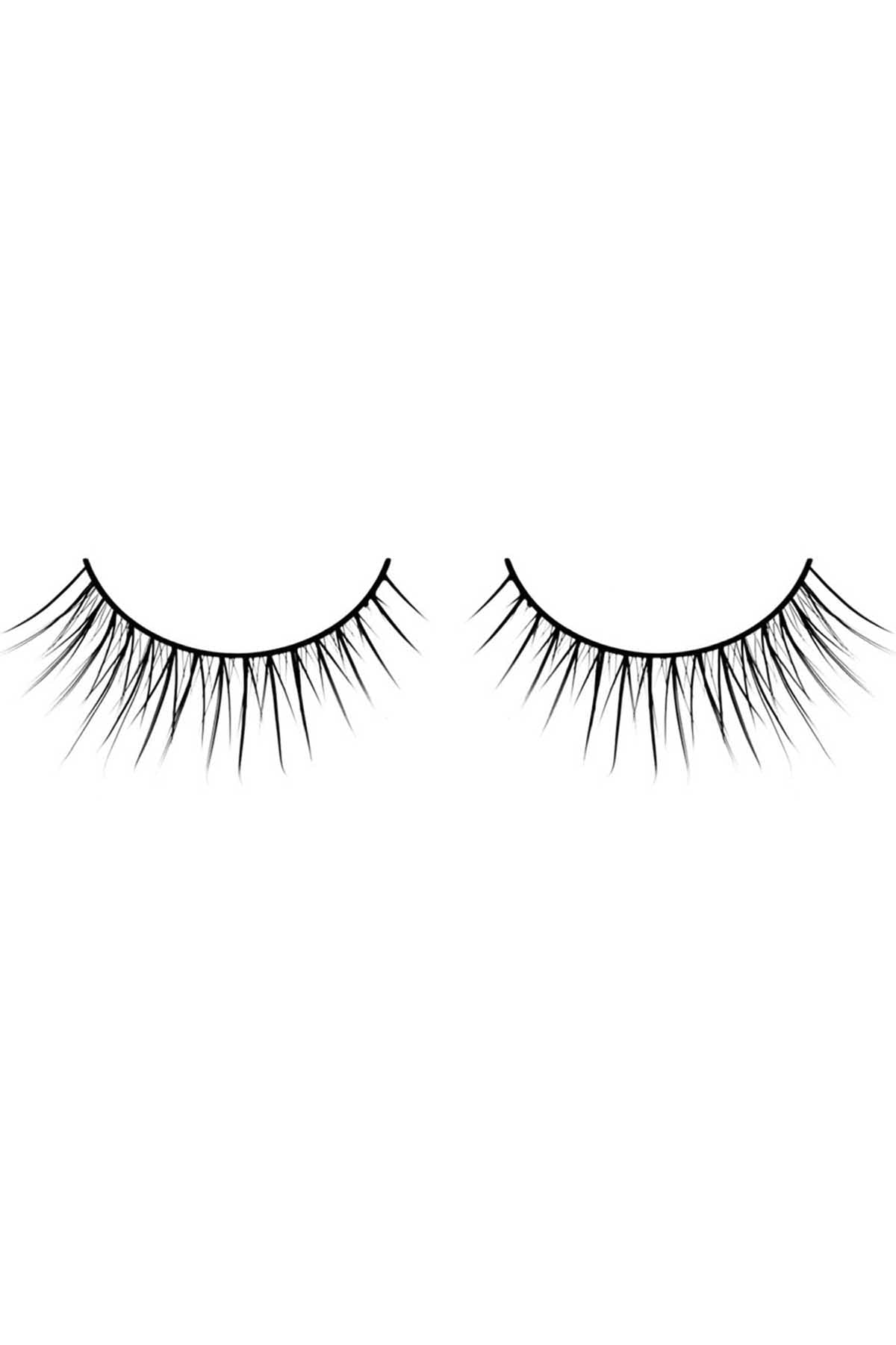7d058834081 Baci Black Soft Curl Natural Look Deluxe Eyelashes | CheapUndies