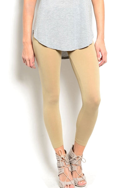 Soho Girls Nude Seamless Leggings