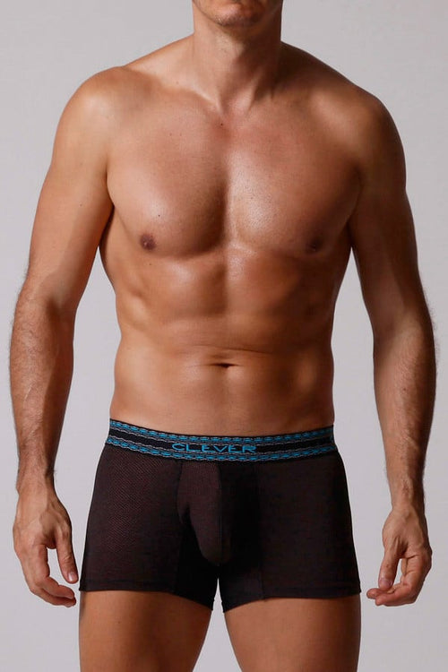 Clever Black Pin Dot Boxer Brief - CheapUndies.com