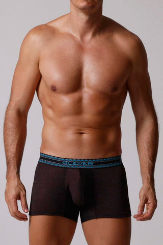 Clever Black Pin Dot Boxer Brief