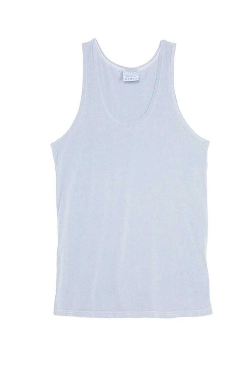 Rxmance Unisex Dusty Blue Tank Top - CheapUndies.com