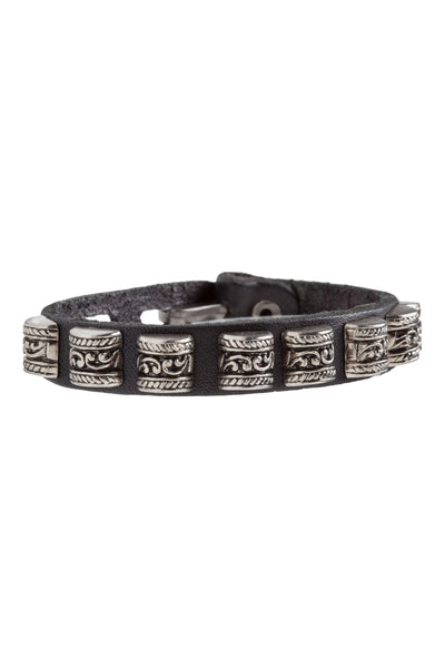Smash Tribal Leather Bracelet - CheapUndies.com