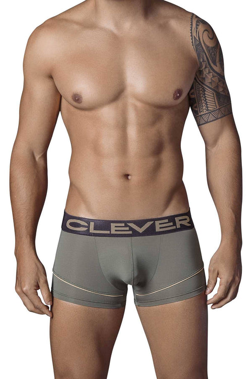 Clever Army-Green Mark Latin Boxer Brief - CheapUndies.com