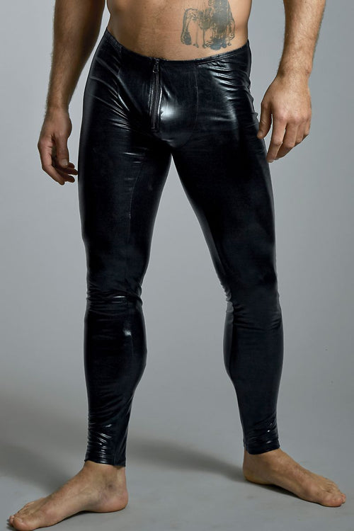 Extreme Collection Black Bondage Legging - CheapUndies.com