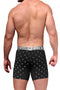 Xtremen Black Anchor Microfiber Boxer Brief