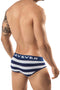Clever Grey Termoli Piping Brief