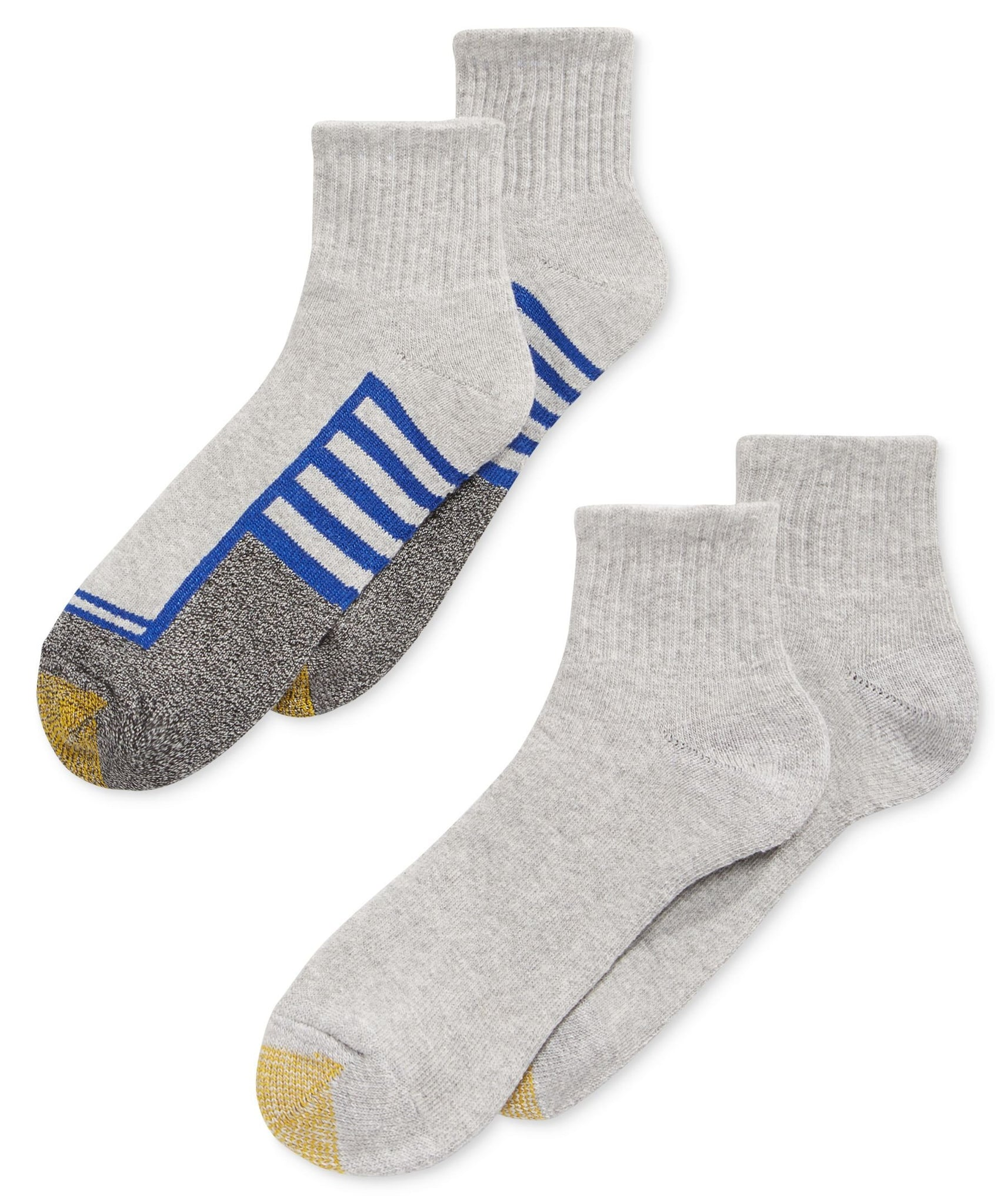 Gold Toe Socks Athletic Cushion Quarter 4 Pack