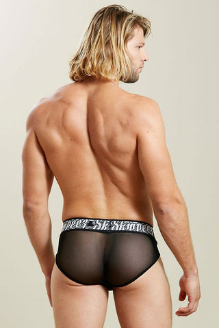 Skmpeez Black Exzotica Brief