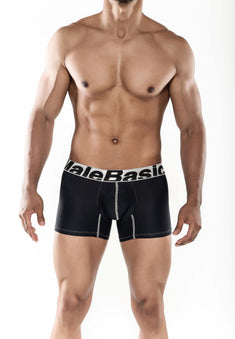 Male Basics Black Microfiber Trunk