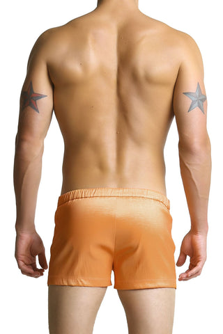 Whittall & Shon Orange Swim Shorts