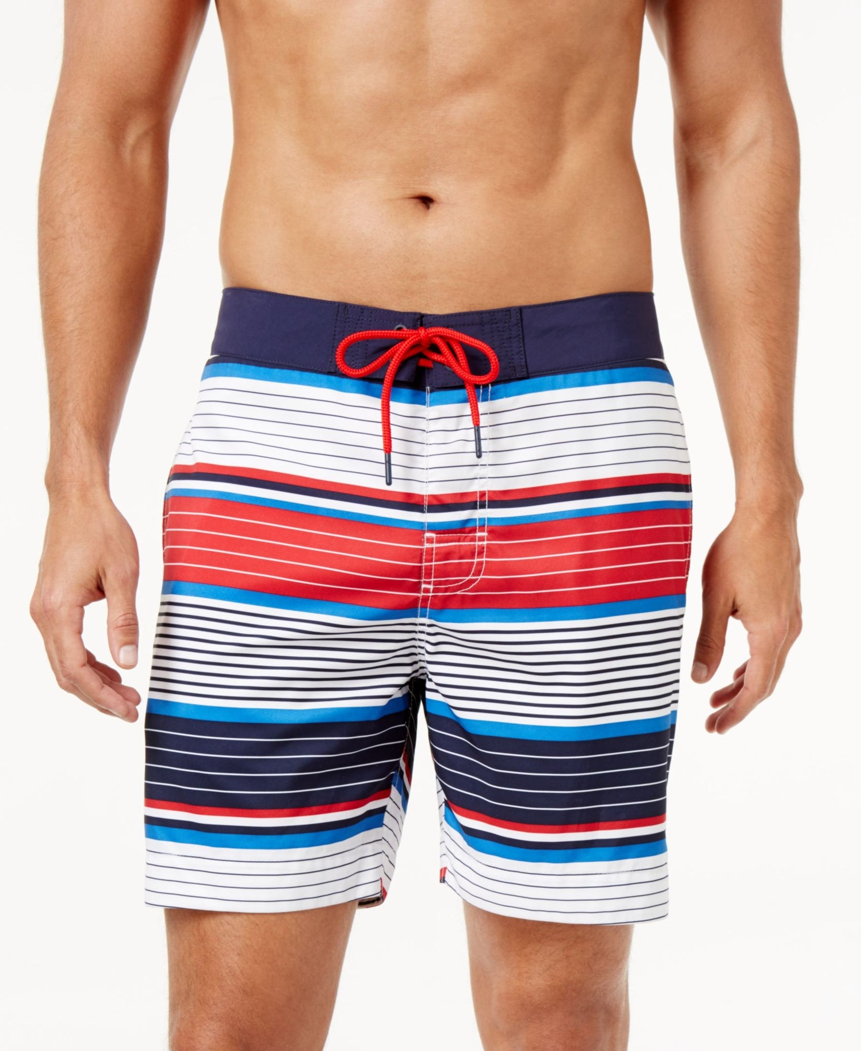 Tommy Hilfiger Men's Rhapsody Striped Board Shorts