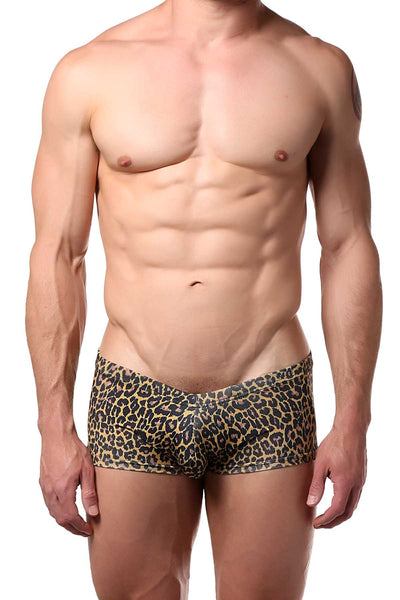 Doreanse Leopard Jungle Hipster Trunk - CheapUndies.com