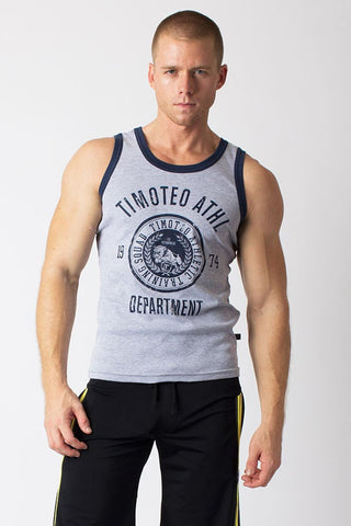 Timoteo Grey Training Team Tank Top