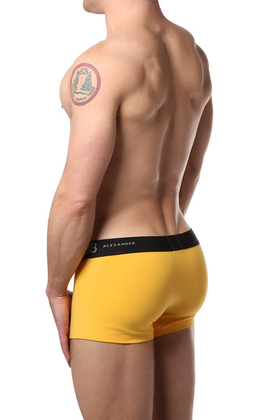 Alexander Cobb Yellow Short Boxer Trunk
