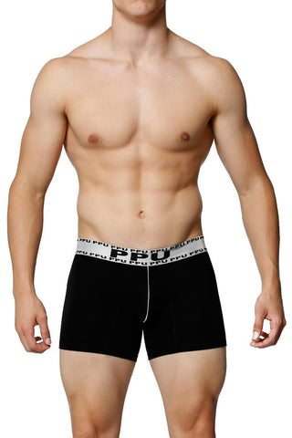PPU Black & Silver Balance Boxer Brief