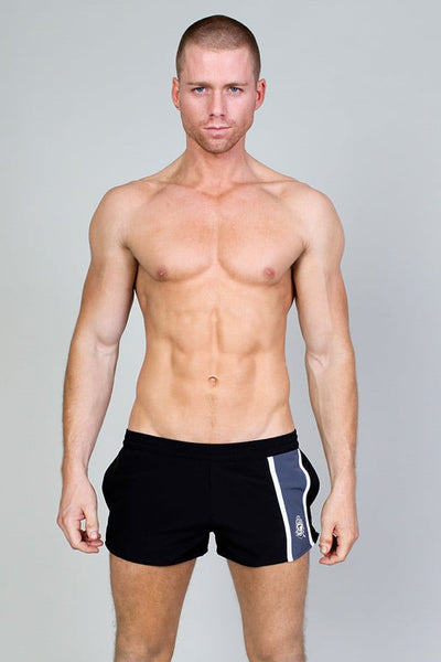 Timoteo Black Zuma Beach Short