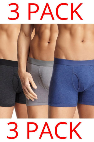 Bottoms Out 3-Pack Midnight Boxer Briefs