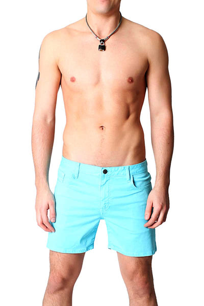 Timoteo Powder Blue Daytona Short - CheapUndies.com
