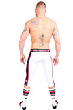 CellBlock 13 Red & White Renegade Defender Pant