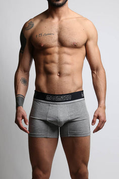 Mosmann Heather Grey Long Boxer