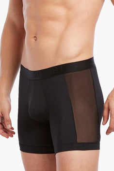 2(X)IST Black Air-Luxe Micro Boxer Brief
