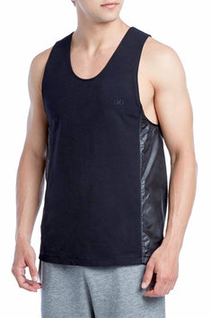 2(X)IST Black Classic Scoop-Neck Tank Top