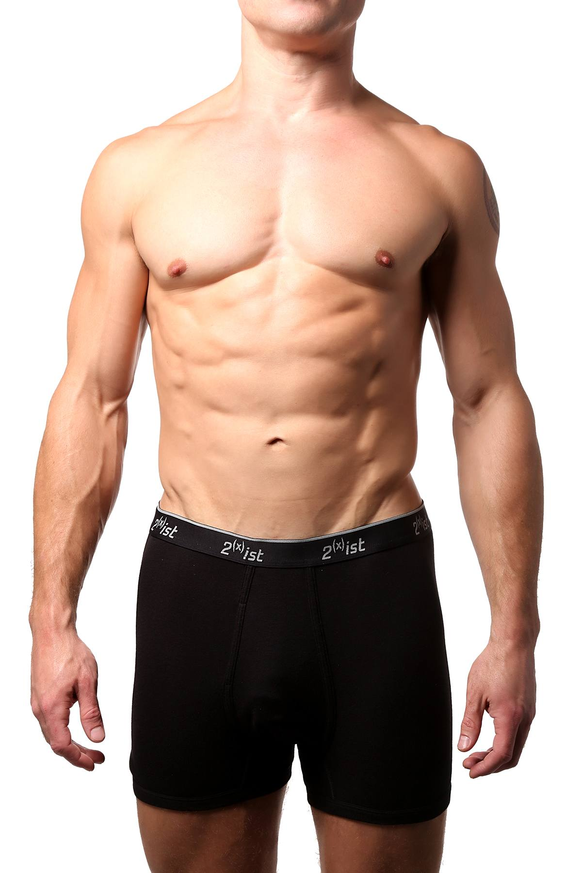 2(X)IST Black Luxe Boxer Brief