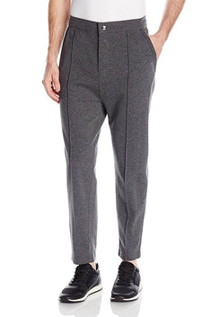 2(X)IST Charcoal Modern Sport Interlock Crop Trouser