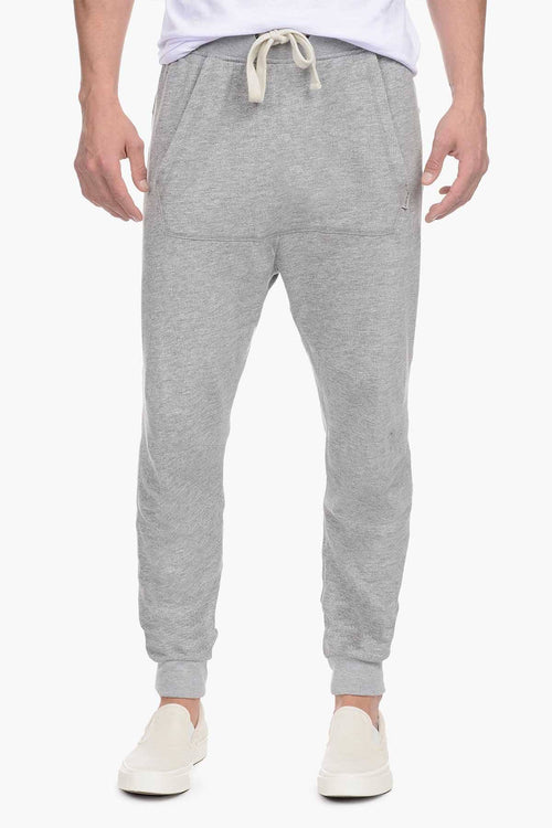 2(X)IST Light Heather Grey French Terry Drop-Inseam Pant - CheapUndies.com