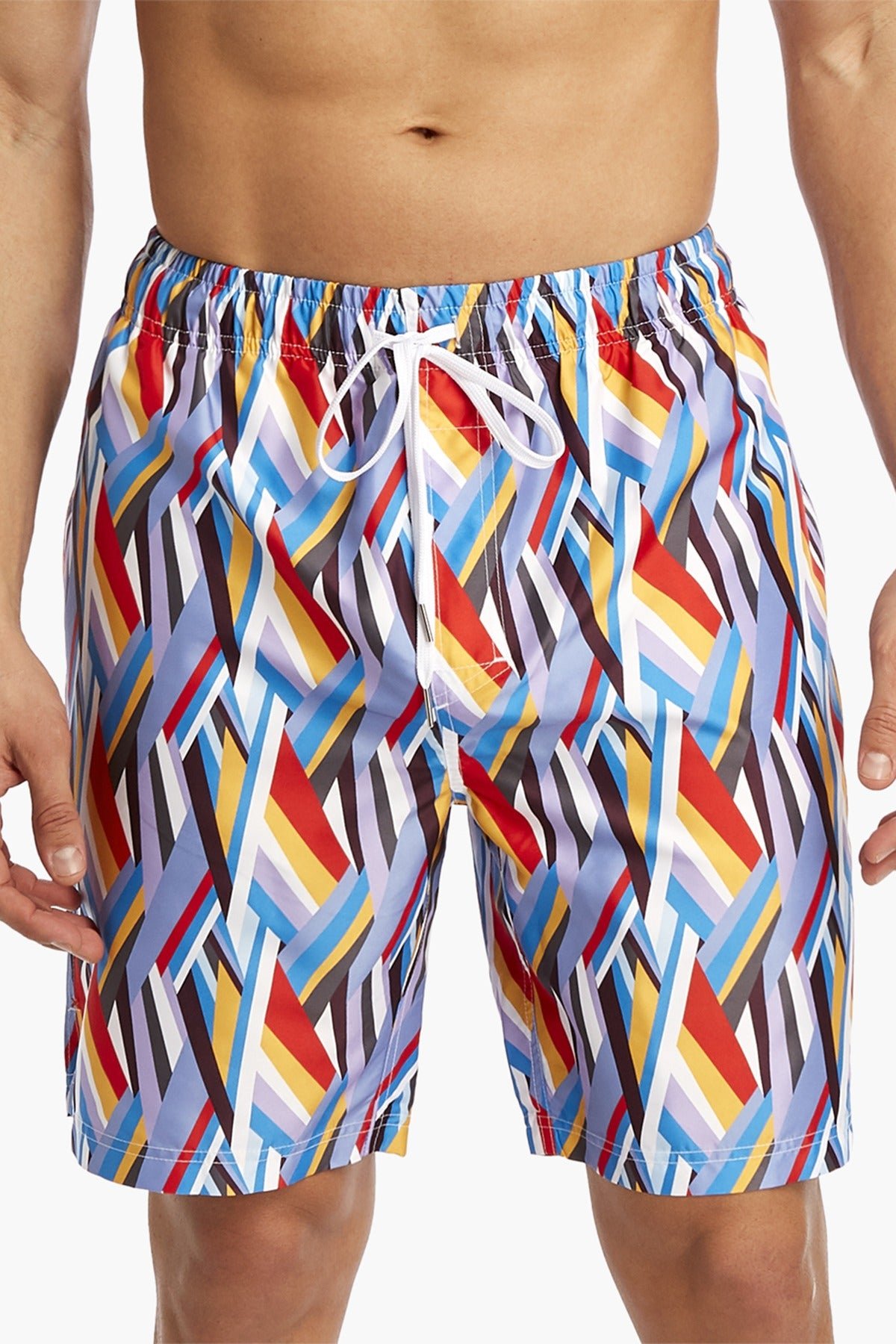 2(X)IST Woven Stripe Catalina Swim Short