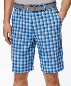 Greg Norman for Tasso Elba Men's Windowpane Golf Short