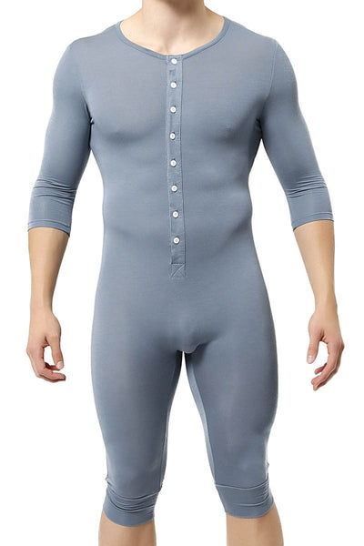 Trend Blue 3/4-Length Body Suit