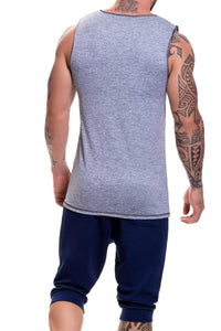 Jor Grey Animal Tank Top