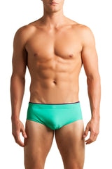 C-IN2 Menthol Matte Brazilian Square Cut Swim Brief