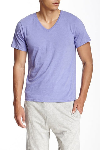 Bottoms Out Purple Classic V-Neck