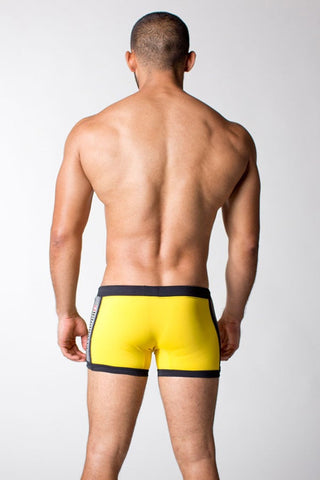 Timoteo Yellow Cage Fighter Short