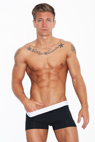 Wood Original Black Boxer Brief