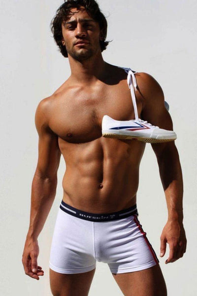 Rufskin White Bob Boxer Brief
